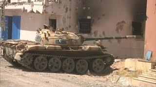 تقدم قوات البنيان المرصوص في سرت الليبية
