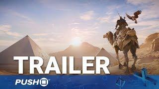 Assassin's Creed Origins PS4 Cinematic (CGI) Trailer | PlayStation 4 | Gamescom 2017