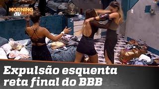 Expulsão de participante esquenta reta final do Big Brother Brasil