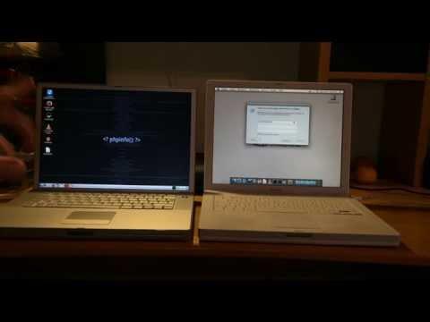 Powerbook G4 vs iBook G4 Boot Race
