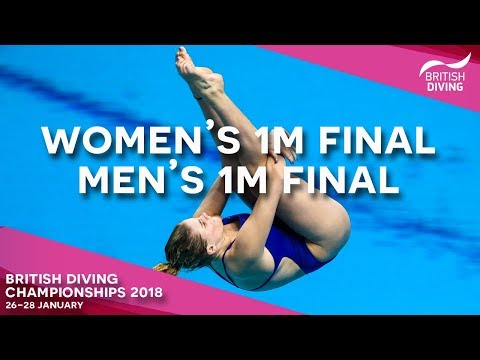 British Diving Championships 2018 - Session Two