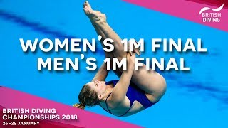 British Diving Chionships 2018 Session Two