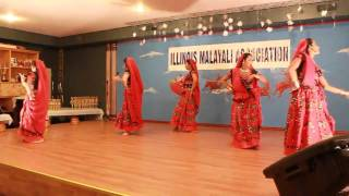 Illinois Malayalee Association -Malayalam Group Dance