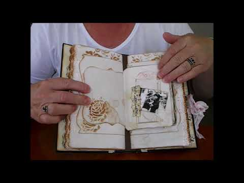 """""""Music to My Heart Vintage Journal"""""""