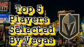 Vegas Golden Knights/Top 5 Acquired Players