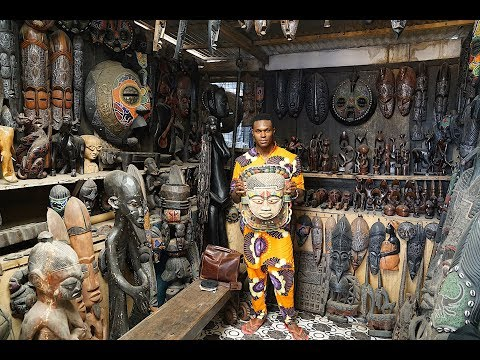 Live. Love. Africa : Tour Of The Accra Art Center