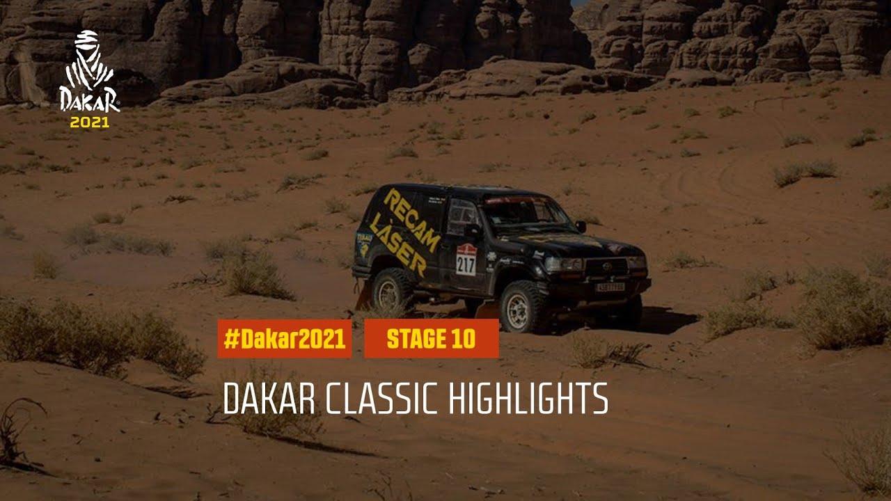 #DAKAR2021 - Stage 10 - Neom / AlUla - Dakar Classic Highlights