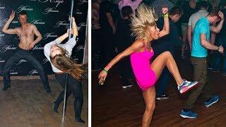 Крутые и смешные танцы под песню к празднику