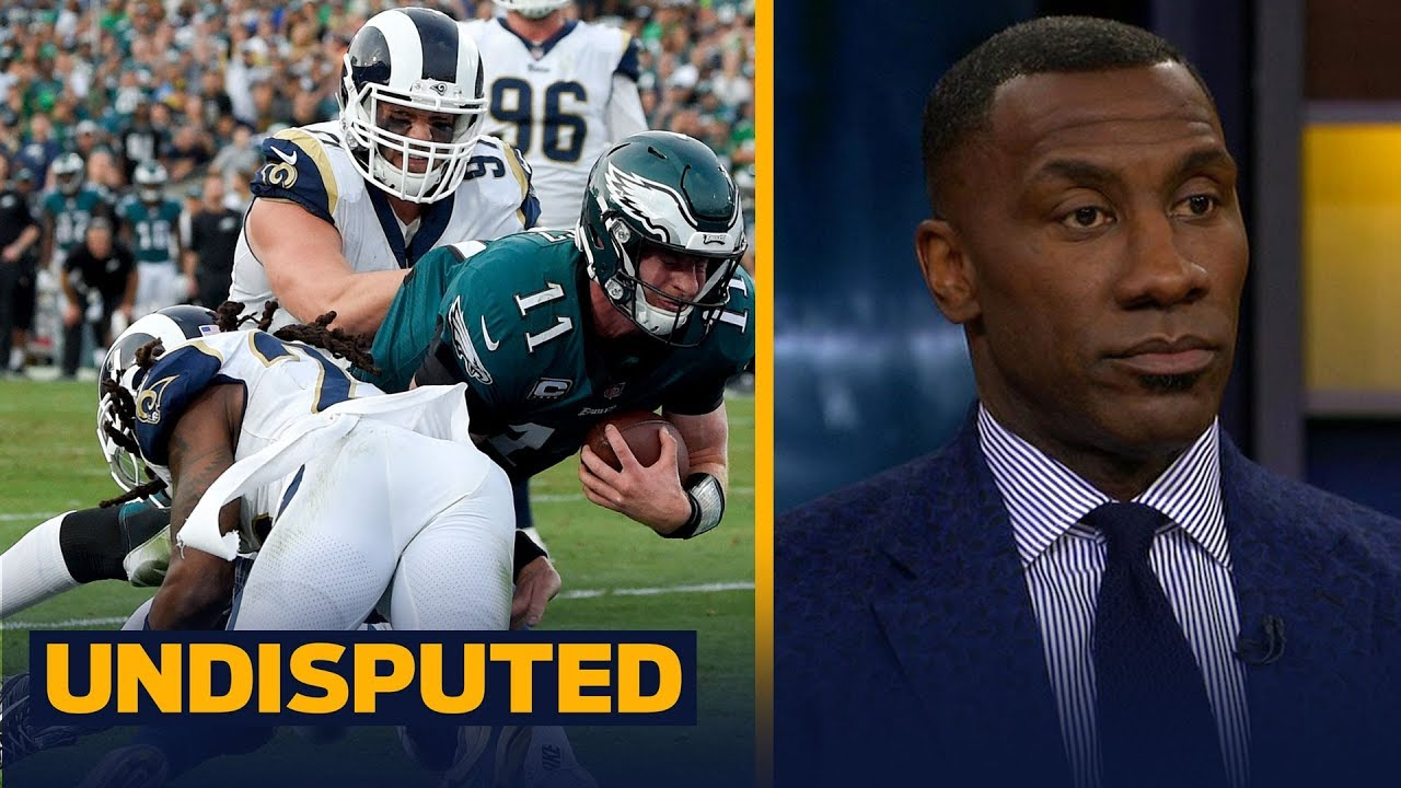 Shannon Sharpe explains why the Eagles can still win the NFC without Carson Wentz UNDISPUTED