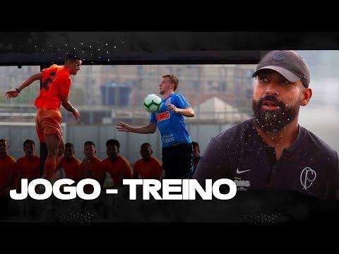 JOGO-TREINO: GOLS E ENTREVISTAS