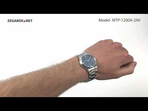 Casio Klasyczne MTP-1200A-2AV MTP-1200A-2AVEF - Zegarek.net