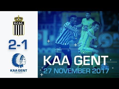 🎬 Charleroi -KAA Gent (2-1)