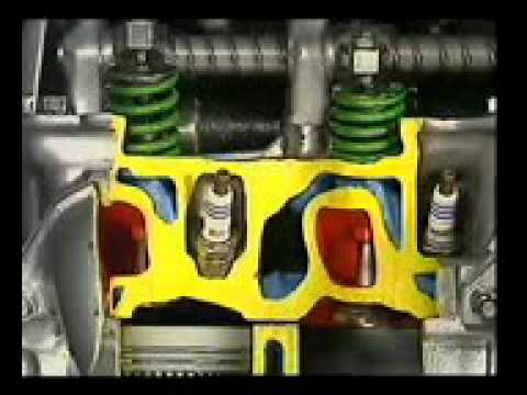 2 stroke petrol engine working method