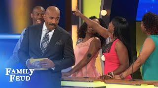 You know where to find me, honey! | Family Feud