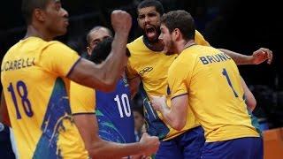 Brasil x Itália - Final olímpica do vôlei masculino/Rio 2016!