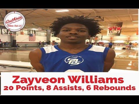 Burke County Basketball: #22 Zayveon Williams 20 PTS, 8 AST, 6 REB