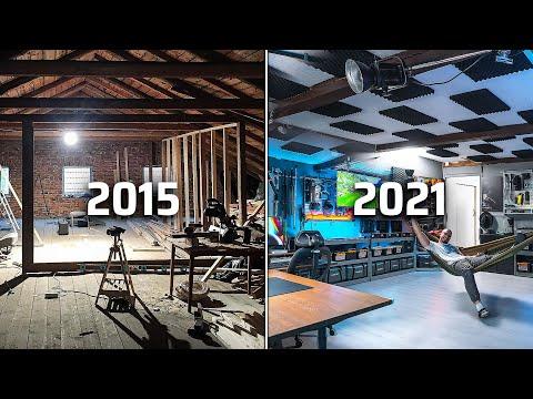 Studio Tour 2021   My Dream DIY YouTube Studio Setup