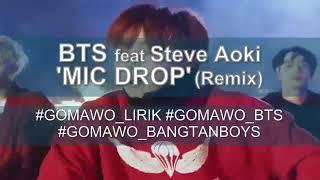"Lyric lagu Bts feat Steve Aoki""mic drop"""