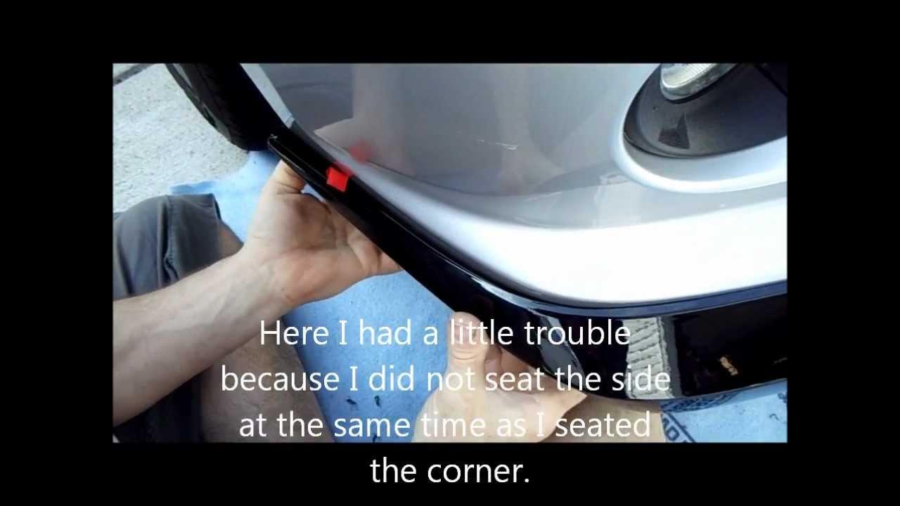 Gen 5 Camaro OEM Factory Spoiler Install