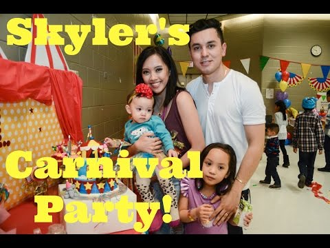 Skyler's Carnival Birthday Party!!