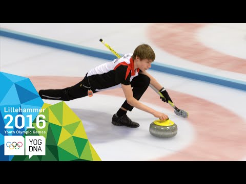 Curling Mixed Doubles - Japan/Switzerland win gold | Lillehammer 2016 Youth Olympic Games