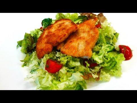 Turkey Steaks In Breadcrumbs, Easy Recipe (cooking Time 25 Minutes)