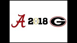 2018 CFP National Championship, #4 Alabama vs #3 Georgia (Highlights)