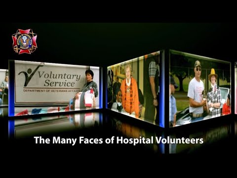 The Many Faces of Hospital Volunteers