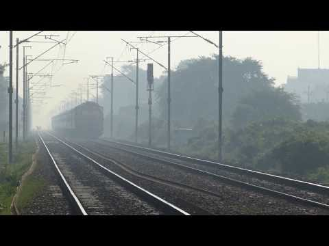My first ever HD shot of Allahabad Jaipur Express
