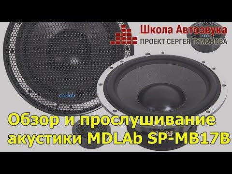 Обзор и прослушивание акустики MDLAb SP-MB17B
