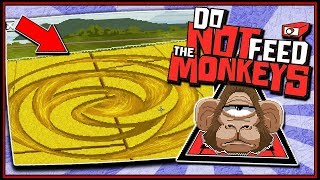 ALIEN CONTACT MADE 👽 (EVIL Run) - Do Not Feed The Monkeys Gameplay EP 2