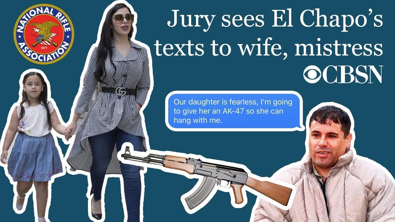 CBSN: Jury sees El Chapo's texts to wife, mistress