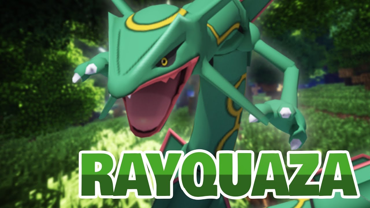 How to Catch and MEGA Evolve Legendary RAYQUAZA! | Pixelmon Reforged