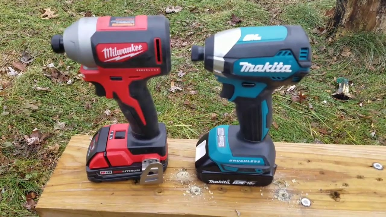 Image result for milwaukee vs makita google images