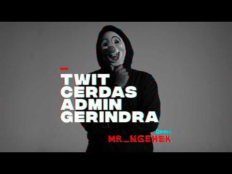 Postingan Cerdas Admin Gerindra | MR. NGEHEK