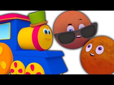 Bob Zug Planeten Song | 3D-Cartoon für Kinder | Educational Video | Kompilation