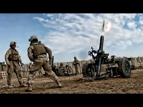 The Deadly EFSS • U.S. Marines Setup & Fire M327 Mortars