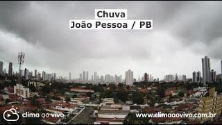Evolução da chuva em João Pessoa / PB - 03/07/20