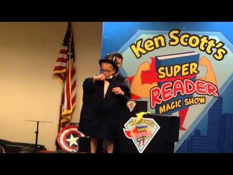 Hamming it up with Magician Ken Scott