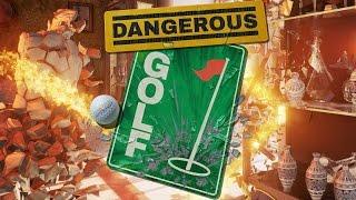 Dangerous Golf / Опасный Гольф - Обзор Игры!