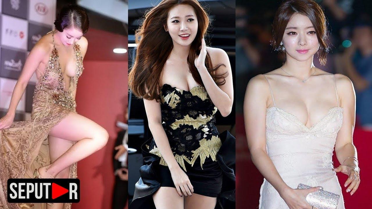 Download Bikin Melonggo! Inilah Gaun Terbuka Artis Korea Saat Di Atas Carpet Merah