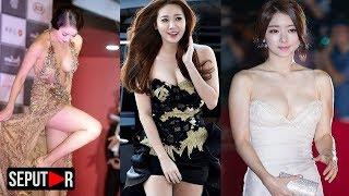 Bikin Melonggo! Inilah Gaun Terbuka Artis Korea Saat Di Atas Carpet Merah