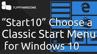 Classic Start Menu For  Windows 10