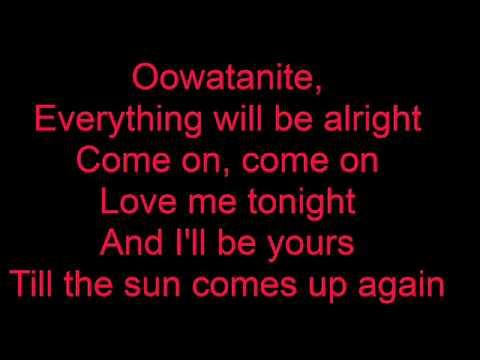 Oowatanite by April Wine (Lyrics)