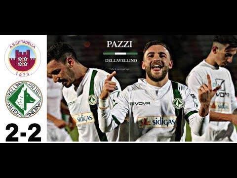 Cittadella-Avellino 2-2 - HD Highlights - Serie B 18^ Giornata