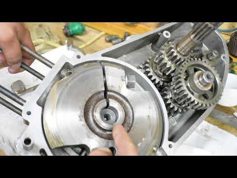 Двигатель ИЖ Юпитер-3.КПП и сборка.( часть 7).