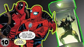 Top 10 Superheroes Who Hate Working Together