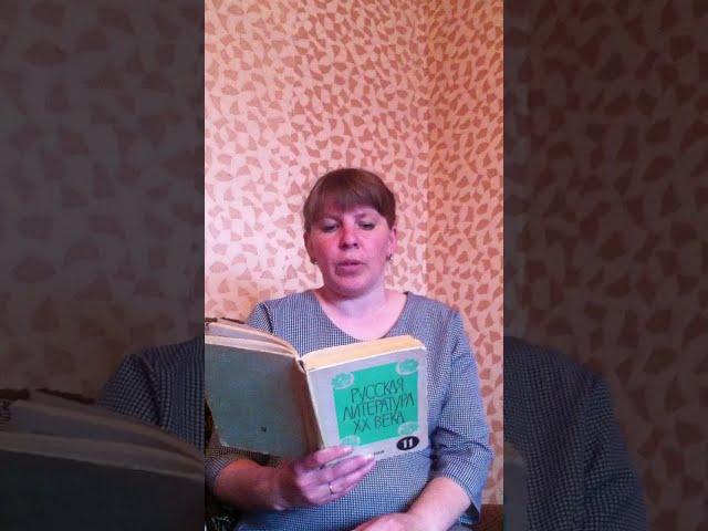 Изображение предпросмотра прочтения – НадеждаМягина читает отрывок изпроизведения «Матрёнин двор» А.И.Солженицына