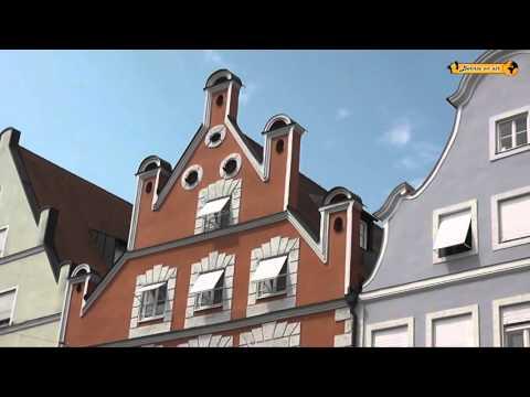 Schönheiten von Landshut Bayern Bavaria Germany