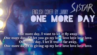 [English Cover] SISTAR (씨스타) x Giorgio Moroder - One More Day by JANNY